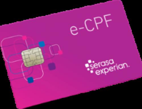 Você já conhece o e-CPF?