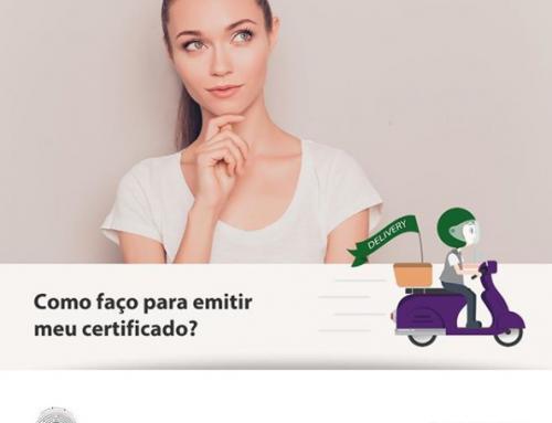 Como faço para emitir meu certificado?