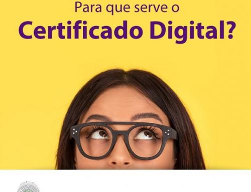 Para que serve o certificado digital?
