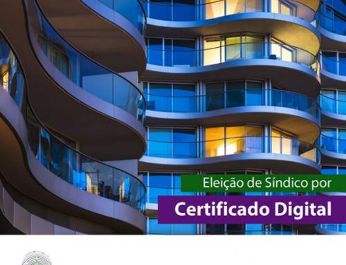 Eleição de Síndico por Certificado Digital.
