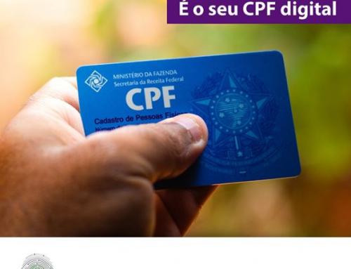 O e-CPF é a versão digital do seu CPF.⠀